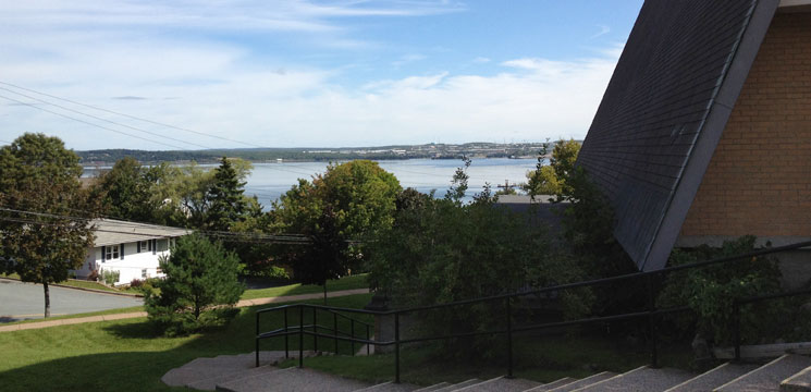 View of the Bedford Basin