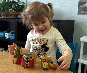 Toddler Montessori - culture work