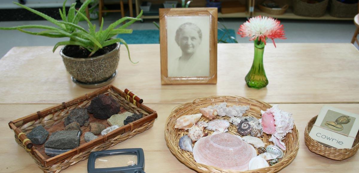 Sensory Montessori materials